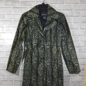 Arden B jacket coat animal print